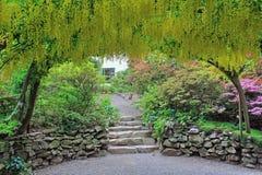 Jardines de Bodnant foto de archivo libre de regalías