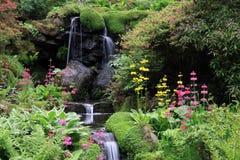 Jardines de Bodnant foto de archivo