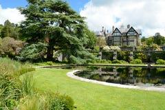 Jardines de Bodnant imagen de archivo libre de regalías