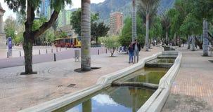 Jardines de Bogotá del distrito de Candelaria del La del parque del periodista metrajes