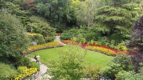 Jardines de Butchart Fotos de archivo libres de regalías