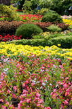 Jardines de Butchart - opinión de jardín Sunken fotos de archivo