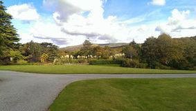 Jardines de Gwyn Fryn Fotos de archivo libres de regalías