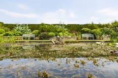 Jardines de Hever Foto de archivo