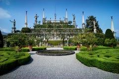 Jardines de Italiante Fotos de archivo