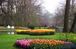 Jardines de Keukenhof fotos de archivo