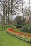 Jardines de Keukenhof en Países Bajos Fotografía de archivo libre de regalías