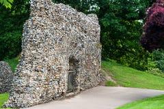 Jardines de la abadía, St Edmunds, Suffolk, Reino Unido del entierro Imagenes de archivo