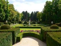 Jardines De-La Granja, Segovia (Spanien) Lizenzfreies Stockfoto