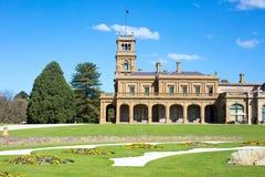 Jardines de la mansión de Werribee Fotografía de archivo libre de regalías