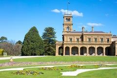 Jardines de la mansión de Werribee Fotos de archivo