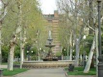 Jardines de la Merced in Cordoba, Spain Royalty Free Stock Images