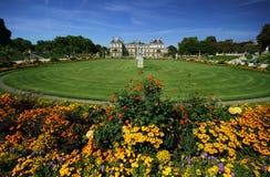 Jardines de Luxemburgo Fotografía de archivo libre de regalías