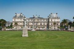 Jardines de Luxemburgo en París Fotos de archivo libres de regalías
