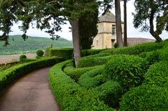 Jardines de Marqueyssac Foto de archivo libre de regalías