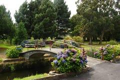 Jardines de Otepuni, Invercargill Imagenes de archivo