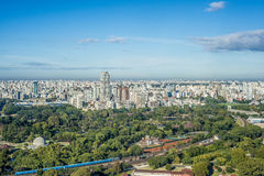 Jardines de Palermo en Buenos Aires, la Argentina. Imagenes de archivo