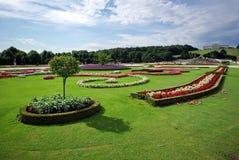 Jardines de Schonbrunn imagenes de archivo