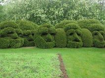 Jardines de Sericourt imagen de archivo libre de regalías
