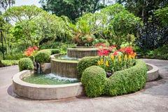 Jardines de Singapur Imágenes de archivo libres de regalías