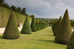 Jardines de Versalles Imágenes de archivo libres de regalías