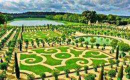 Jardines de Versalles foto de archivo