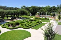 Jardines de Vizcaya fotografía de archivo libre de regalías