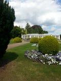 Jardines de Wollaton Pasillo Imágenes de archivo libres de regalías