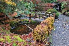 Jardines del butchart del otoño Fotografía de archivo libre de regalías
