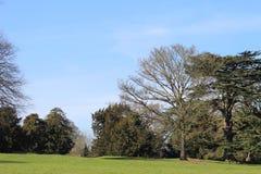 Jardines del castillo de Astley Imagen de archivo