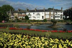 Jardines del cuadrado de Prittlewell, Southend-en-mar, Essex fotos de archivo libres de regalías