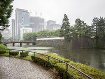 Jardines del este del palacio imperial, Tokio, Japón imagenes de archivo
