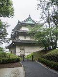 Jardines del este del palacio imperial, Tokio, Japón fotos de archivo