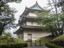 Jardines del este del palacio imperial, Tokio, Japón foto de archivo