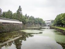 Jardines del este del palacio imperial, Tokio, Japón fotografía de archivo libre de regalías