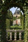 Jardines del francés de Eyrignac Foto de archivo libre de regalías
