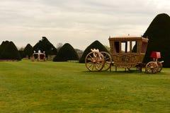 Jardines del Hampton Court Imagenes de archivo