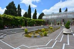 Jardines del invierno de Auckland en Auckland Nueva Zelanda Fotografía de archivo