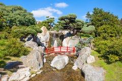 Jardines del japonés de Buenos Aires Imagen de archivo libre de regalías