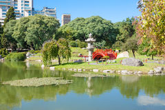 Jardines del japonés de Buenos Aires Imagen de archivo