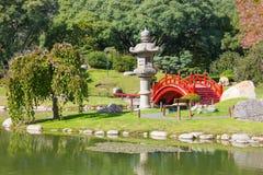 Jardines del japonés de Buenos Aires Fotografía de archivo