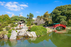 Jardines del japonés de Buenos Aires Foto de archivo libre de regalías
