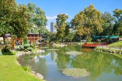 Jardines del japonés de Buenos Aires imágenes de archivo libres de regalías