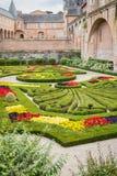 Jardines del palacio de Berbie en Albi, Francia Imágenes de archivo libres de regalías