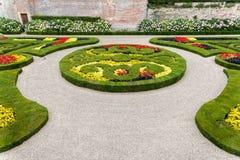 Jardines del palacio de Berbie en Albi, Francia Foto de archivo libre de regalías
