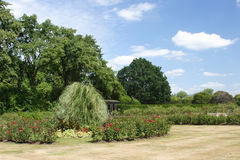 Jardines del palacio de Kensington imagenes de archivo