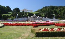 Jardines del palacio de Schonbrum Imagen de archivo
