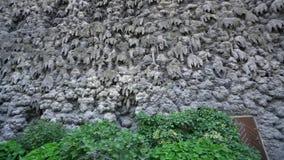 Jardines del palacio de Wallenstein en Praga almacen de metraje de vídeo