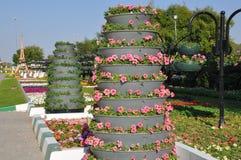 Jardines del paraíso de Al Ain Fotos de archivo libres de regalías