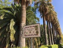 Jardines del Real Gardens Stock Photos